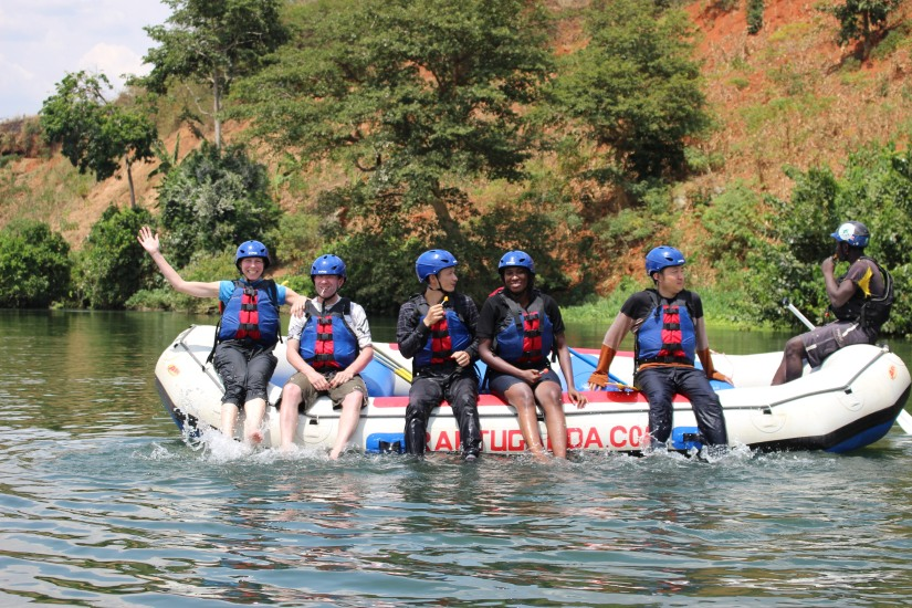 Rafting the Mighty River Nile